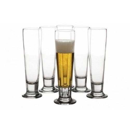 Maxwell and Williams Vertigo Pilsner Glass 0.43L (Set of 6)