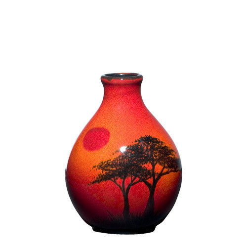 Poole Pottery African Sky Bud Vase 12.5cm