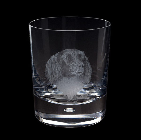 Royal Brierley Engraved Springer Spaniel Tumbler 0.30L