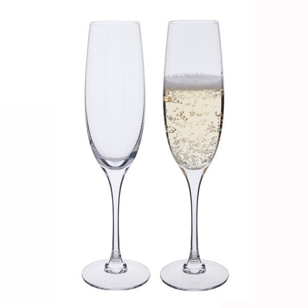 Dartington Crystal Chateauneuf Vintage Champagne Flute 0.21L (Pair)