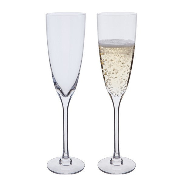 Dartington Crystal Rachael Champagne Flute 0.25L (Pair)