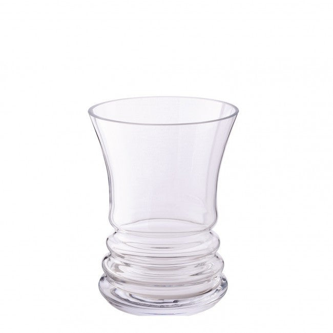 Dartington Crystal Wibble Wide Vase 18cm China Chaps
