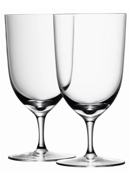 LSA Wine Clear Set of 4 Water Glasses 400ml