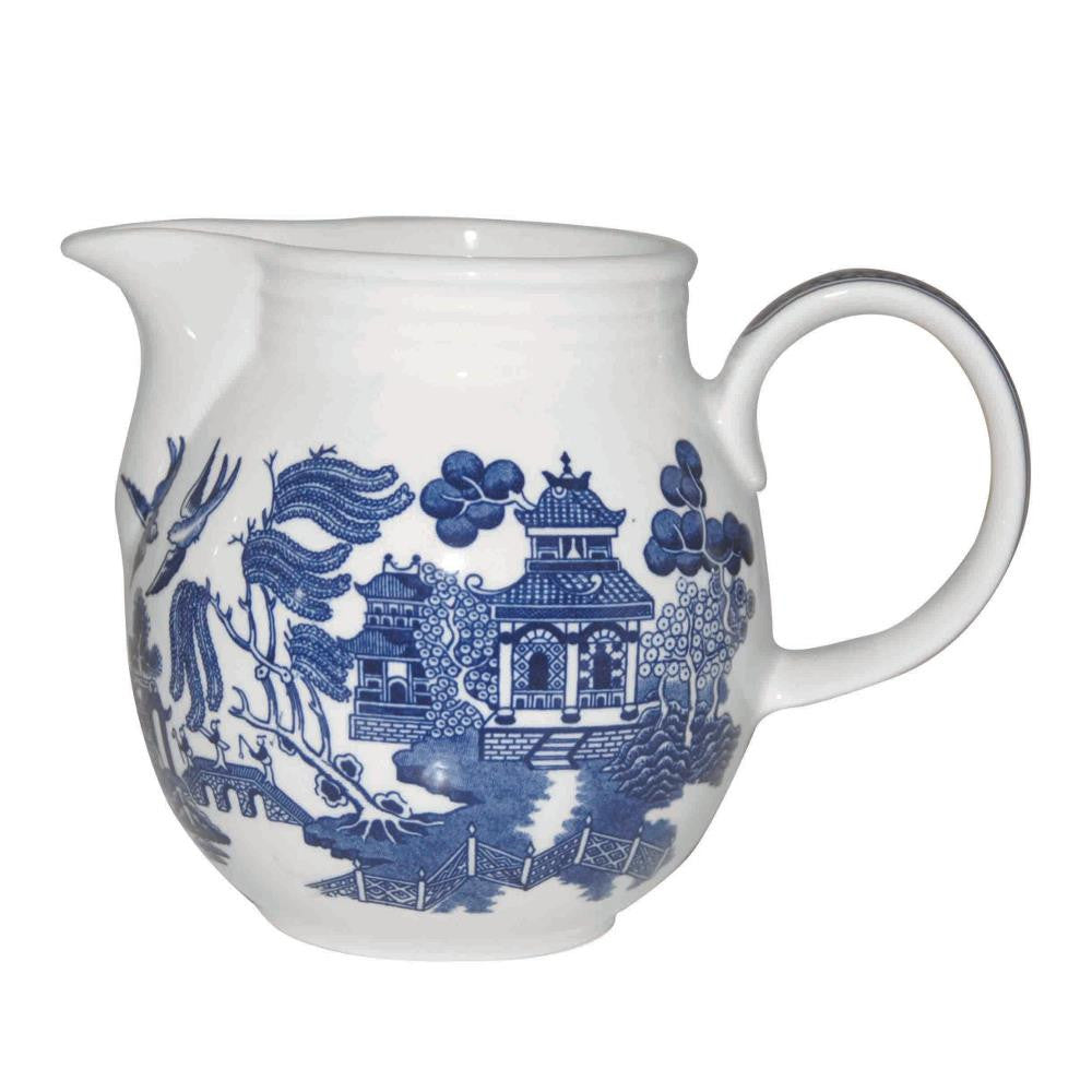 Churchill China Blue Willow Milk Jug 0.85L