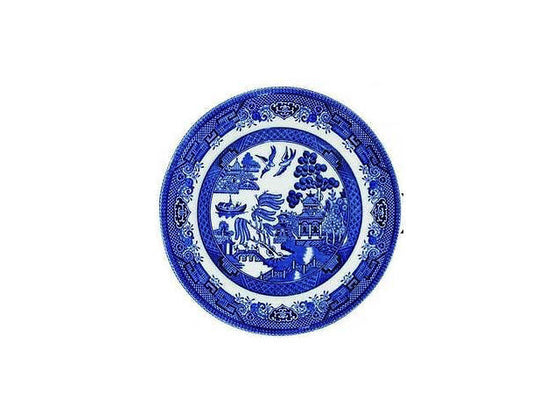 Churchill China Blue Willow Tea Plate 17cm