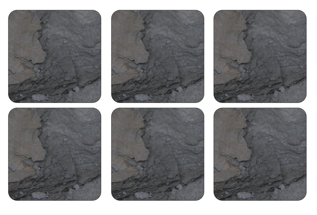 Pimpernel Midnight Slate Coasters 10.5cm By 10.5cm (Set Of 6)