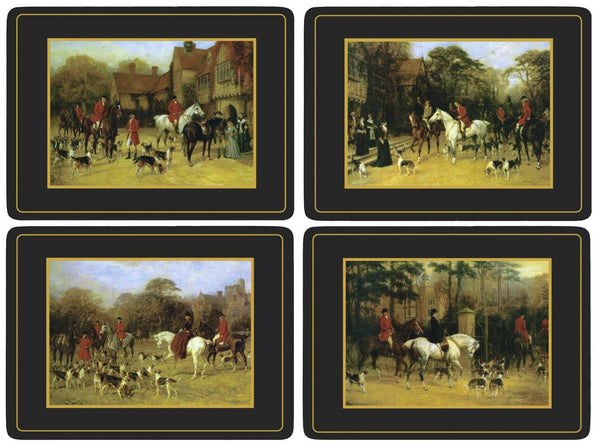 Pimpernel Tally Ho Placemats 40.1cm By 29.8cm (Set Of 4)