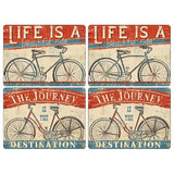 Pimpernel Beautiful Ride Placemats 40.1cm By 29.8cm (Set Of 4)