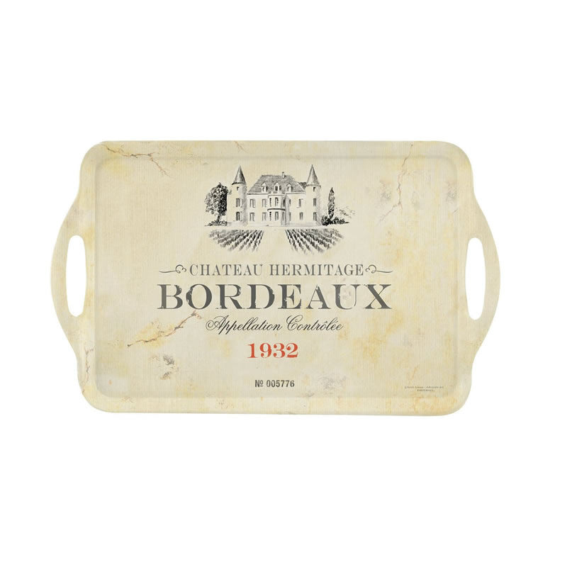 Pimpernel Vin De France Tray 48cm By 29.5cm