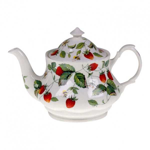 Roy Kirkham Alpine Strawberry Large Round Tea Pot 1L