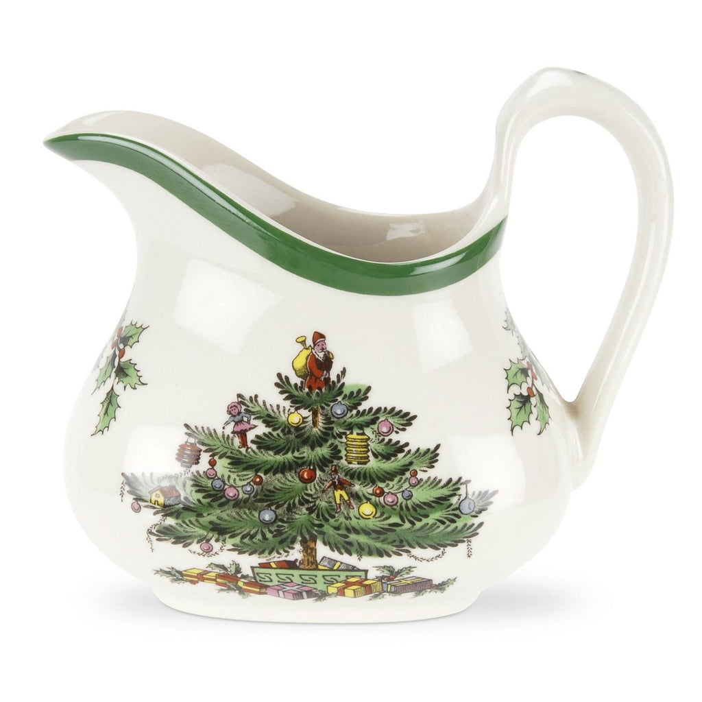 Spode Christmas Tree Cream Jug  0.22L