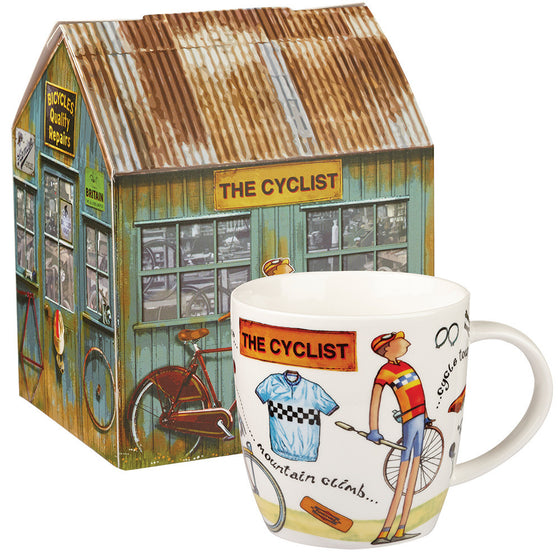 Churchill China At Your Leisure The Cyclist Mug 0.40L