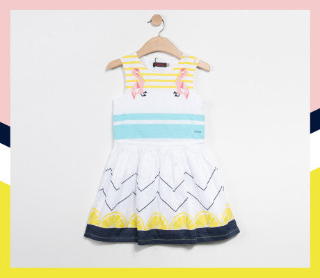 Catimini Universe - Pelican dress