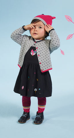 Baby Girl Dress with Animal Graphic