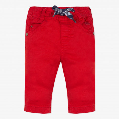 [LAST CHANCE*] Red stretch twill trousers