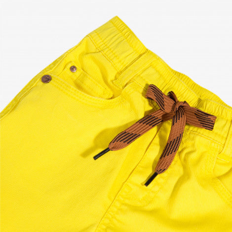 [LAST CHANCE*] Yellow stretch twill trousers