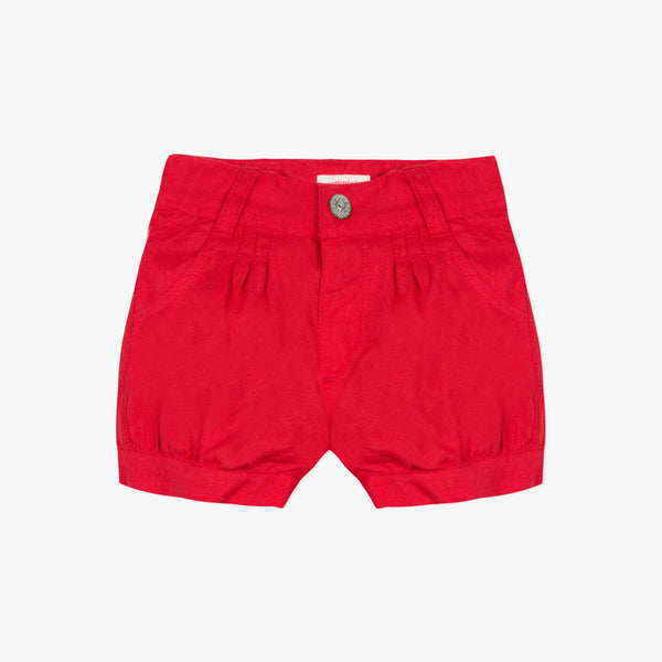 [LAST CHANCE*] Linen red shorts