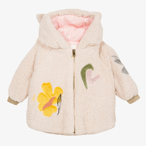 [LAST CHANCE*] Hooded sherpa jacket