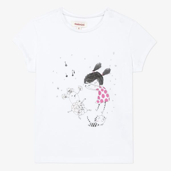 Dancing short sleeve T-shirt