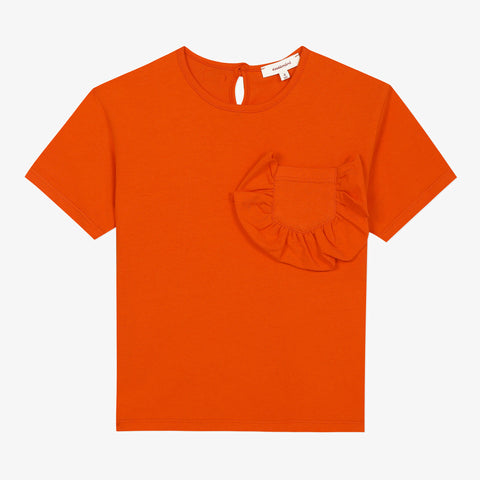 Orange short sleeve T-shirt