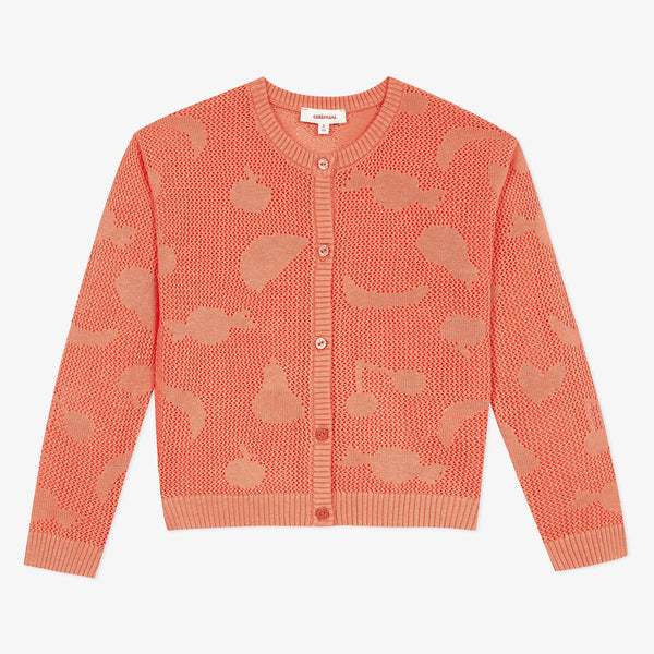*NEW* Orange knit cardigan