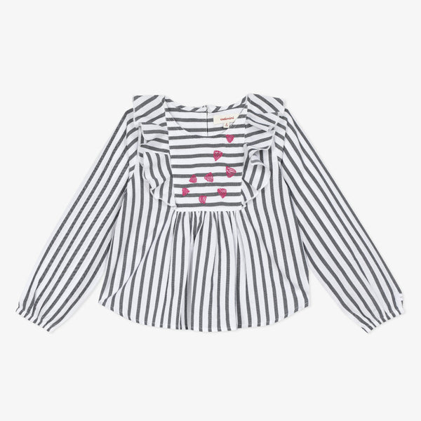 *NEW* Long sleeve striped top