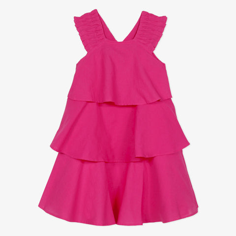 *NEW* Pink ruffle dress