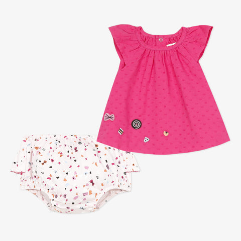 Ruffle Top and Bloomer set