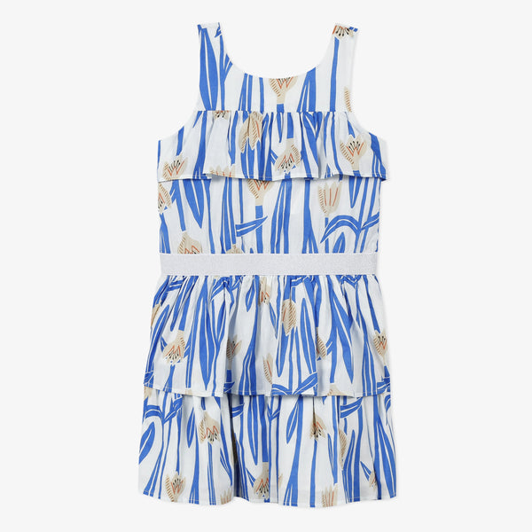 Blue printed sundress