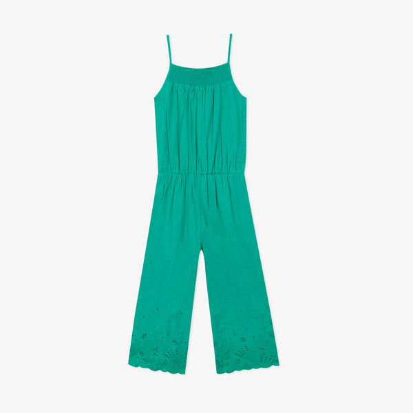 *NEW* Green embroidered Jumpsuit