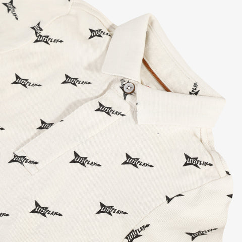 *NEW* Allover printed polo shirt