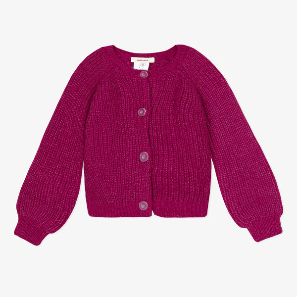 *NEW* Fushia fluffy sparkling cardigan