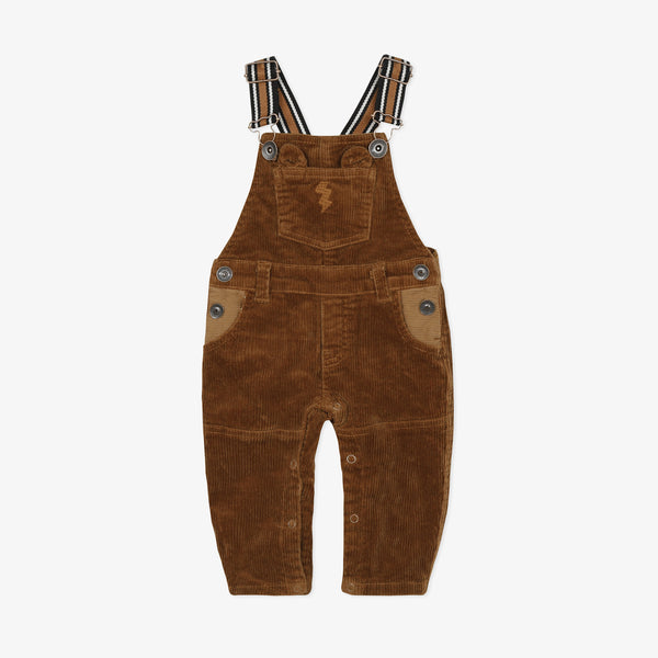 *NEW*  Brown velvet overalls