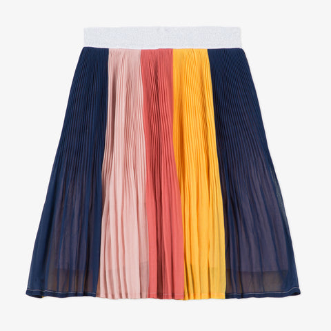 *NEW* Multicolored pleated skirt