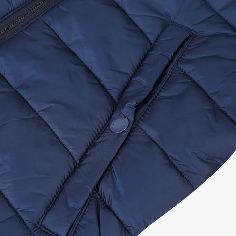 *NEW* Blue coated puffa jacket