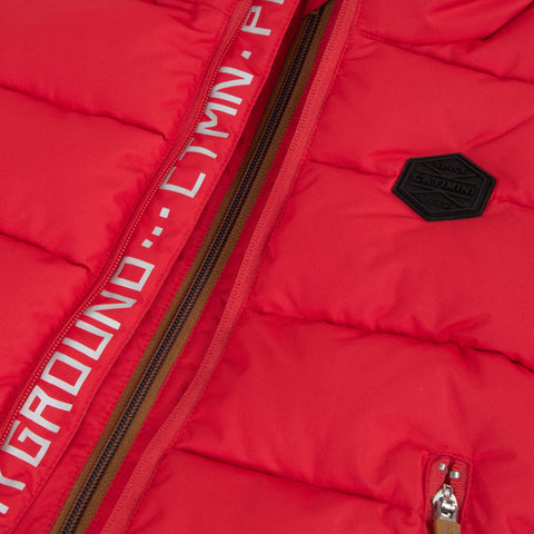 *NEW* Red puffa jacket