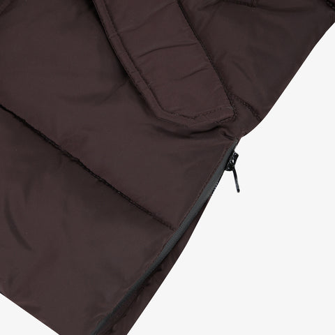*NEW* Brown coated parka with hood