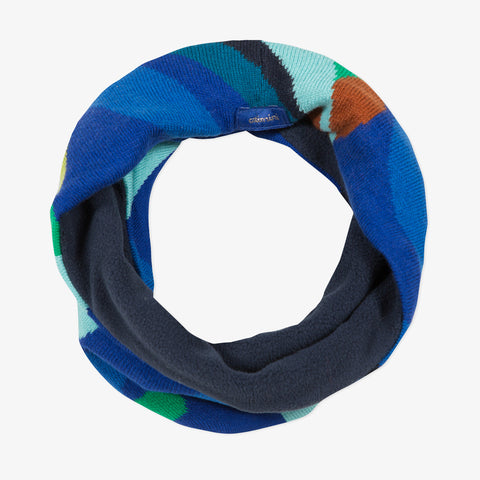 *NEW* Blue knit scarf snood