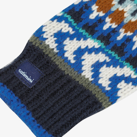 *NEW* Knitted jacquard gloves