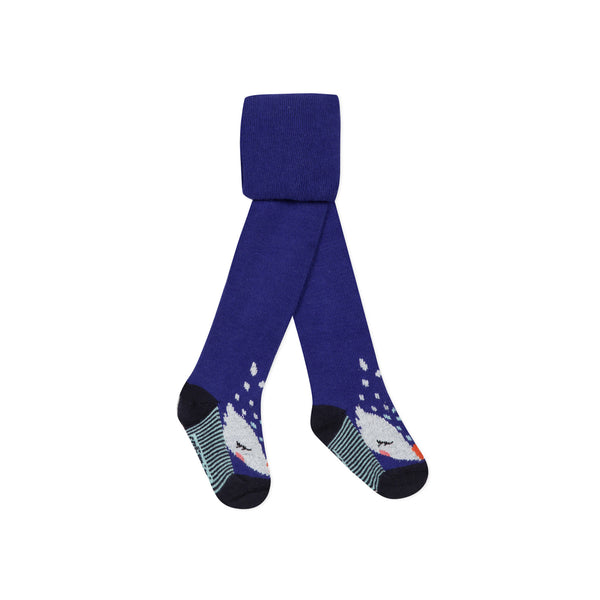 *NEW*  Blue knitted tights