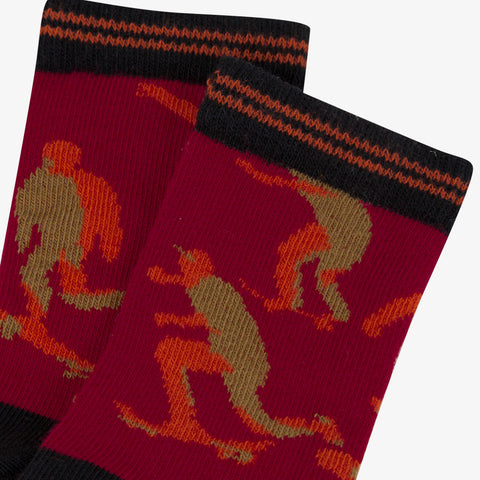 *NEW* Graphic jacquard socks