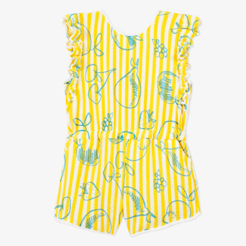 Ruffle Fruity Rompers