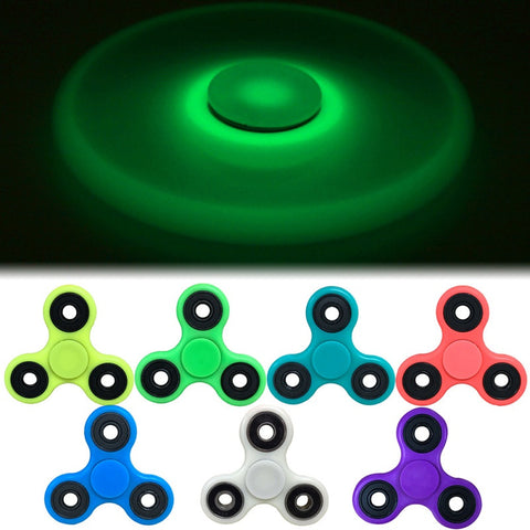 7 Colors Glow In Dark Fidget Tri-Spinner