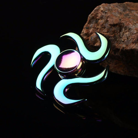 Metal Wave Rainbow Fidget Spinner