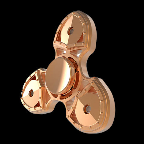 Rose Gold Shield Fidget Spinner