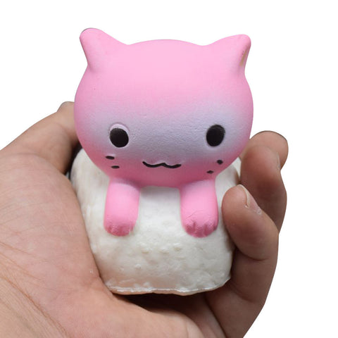 Sushi Cat Squishy Toy
