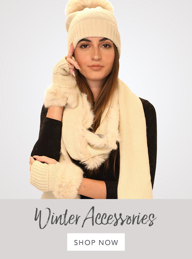 Winter Accessories Shop Now