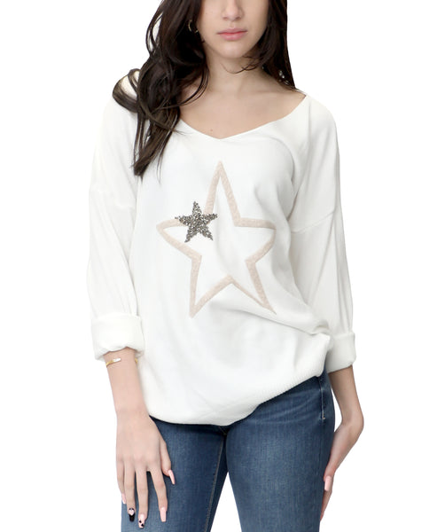 Zoom view for Star Knit Sweater