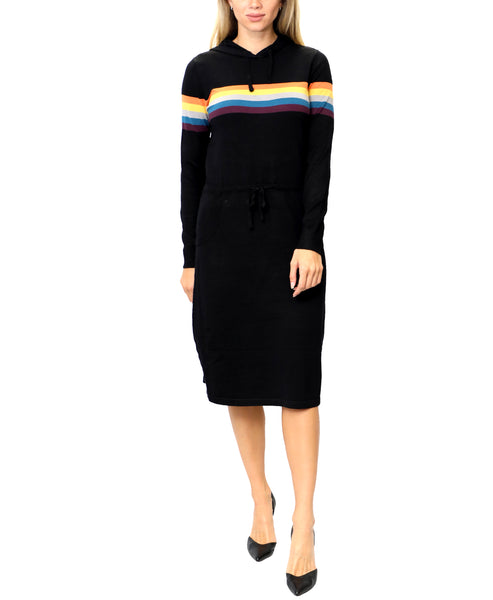 Zoom view for Stripe Sweater Dress