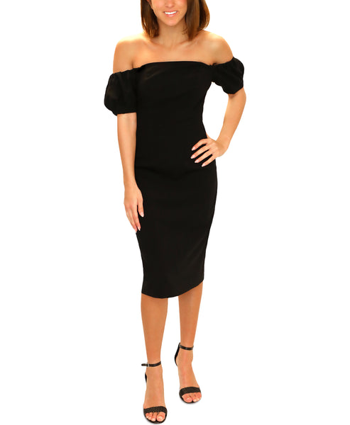 Zoom view for Off The Shoulder Cocktail Dress